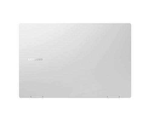 Samsung Galaxy Book Pro 360 13 Mystic Silver -hinten