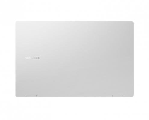 Samsung Galaxy Book Pro 360 15 Mystic Silver -hinten