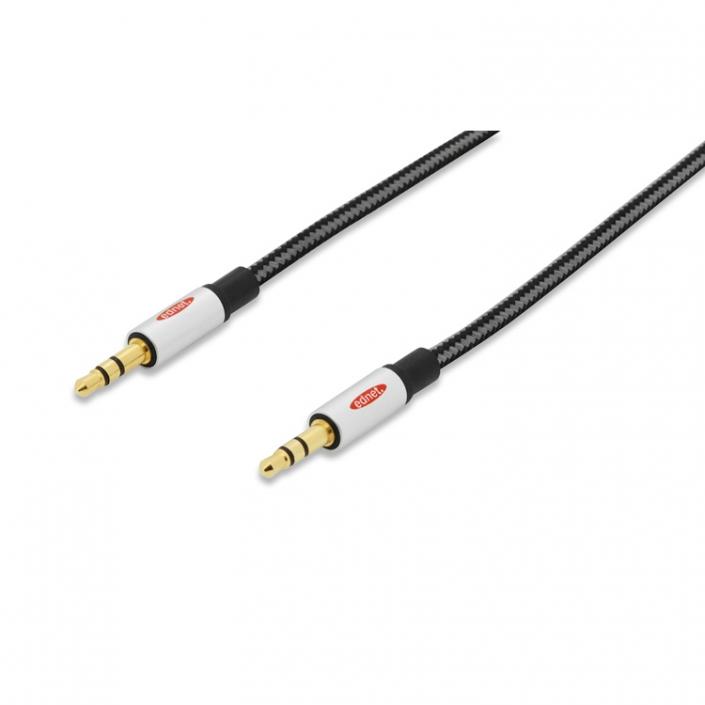 ednet Premium Audio Anschlusskabel 84540