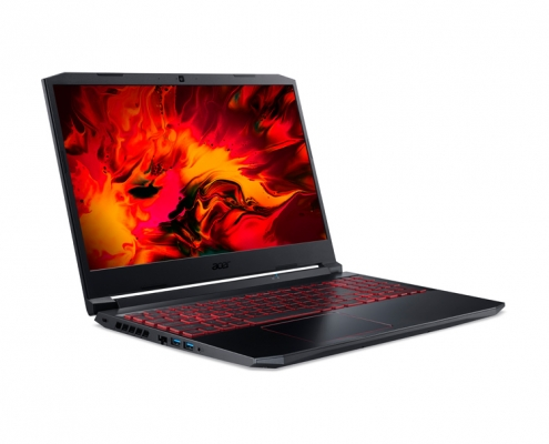 Acer Nitro 5 AN515-55-56GY -seitlich links