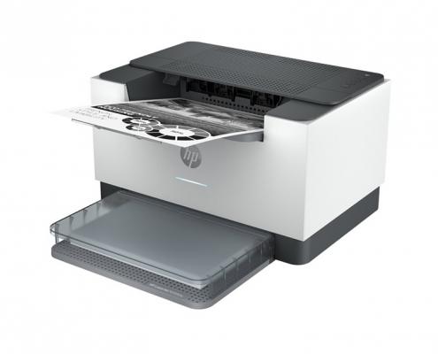 HP LaserJet Pro M209dw -seitlich rechts