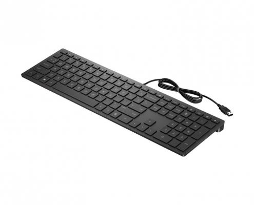 HP Pavilion Wired Keyboard 300 -seitlich