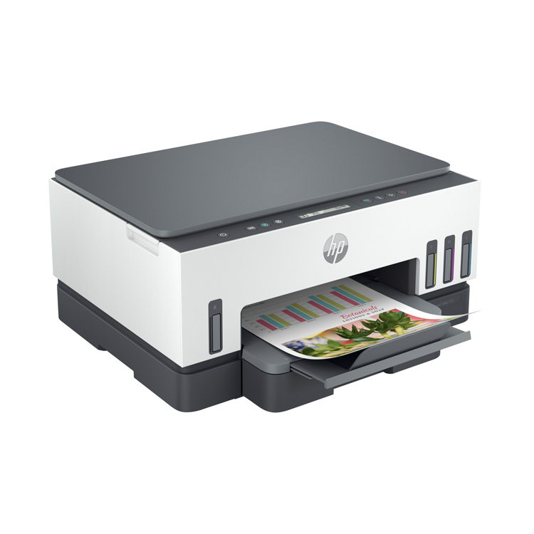 HP Smart Tank 7005 All-in-One -seitlich links