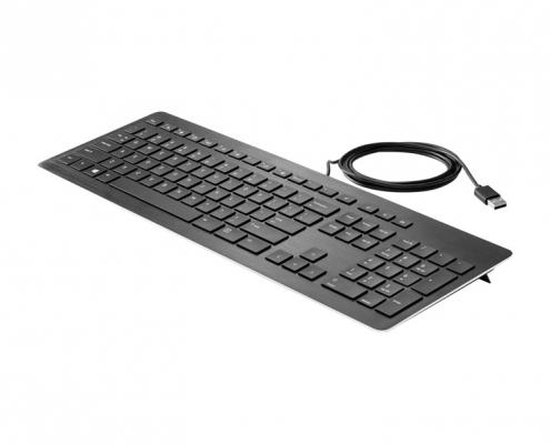HP USB Premium Tastatur -seitlich