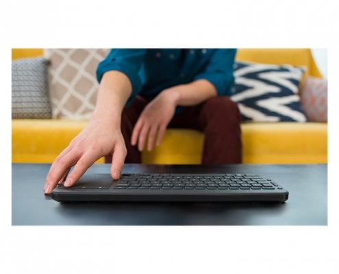 Microsoft All-in-One Media Keyboard -Anwendungsbeispiel