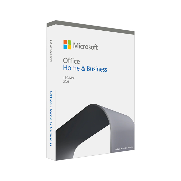 Microsoft Office 2021 Home and Business Medialess