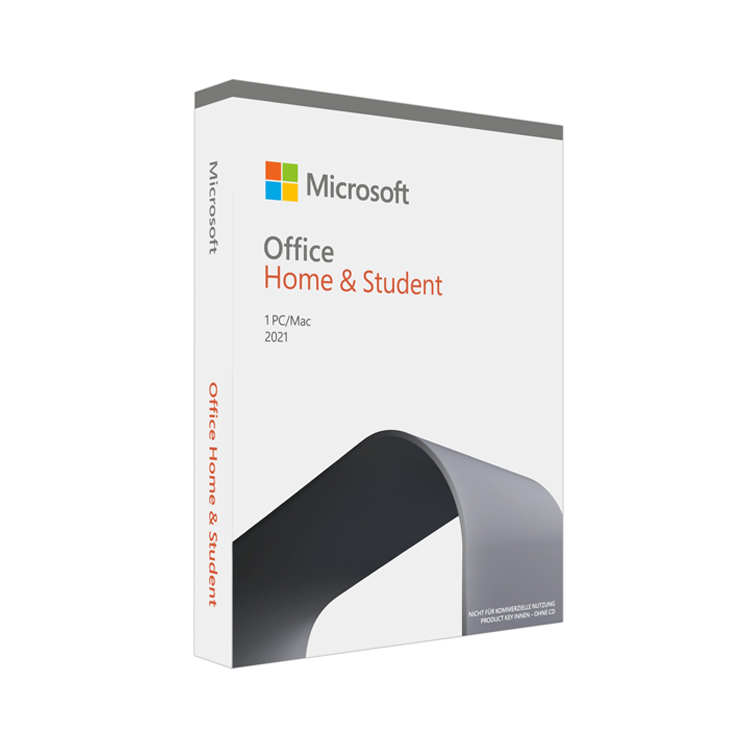 Microsoft Office 2021 Home and Student Medialess