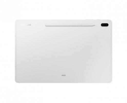 Samsung Galaxy Tab S7 FE T733 T736 Mystic Silver -hinten mit Stift